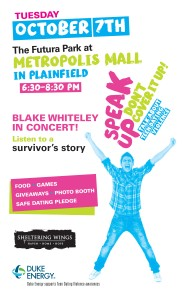End Teen Dating Violence Event/Concert @ Metropolis Mall  | Plainfield | Indiana | United States