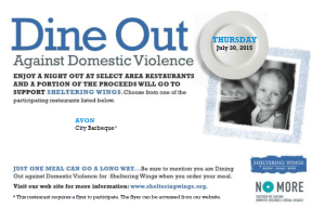 Dine Out Against Domestic Violence @ City Barbeque | Indianapolis | Indiana | United States