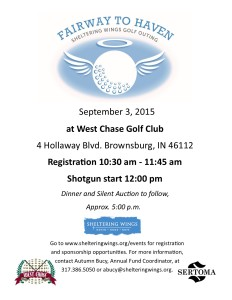 Fairway To Haven Sheltering Wings Golf Outing @ West Chase Golf Club | Brownsburg | Indiana | United States