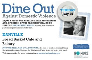 Dine Out Against Domestic Violence @ Bread Basket Cafe and Bakery | Danville | Indiana | United States