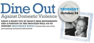 Dine Out Against Domestic Violence @ Cunningham Group Restaurants    Indiana   United States
